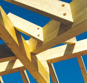 charpente en bois massive