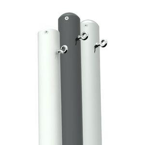 mât pour voile d'ombrage / en aluminium