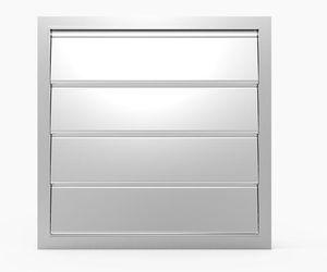 clapet de ventilation en aluminium