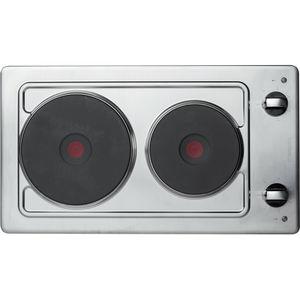 table de cuisson électrique / en inox / 2 foyers
