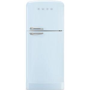 réfrigérateur congélateur avec congélateur en haut / résidentiel / à double porte / coloré