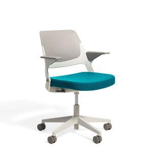 chaise de travail en tissu / en aluminium / en plastique / piètement étoile