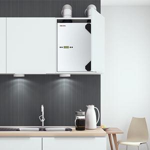 unité de ventilation centralisée / résidentielle / pour maison / pour appartement