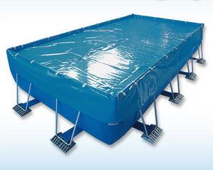 couverture de piscine de sécurité