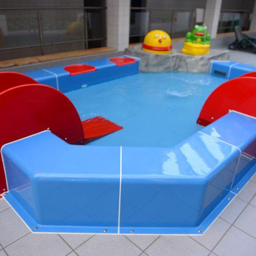 piscine hors-sol / en plastique / pour parc aquatique / pour enfant