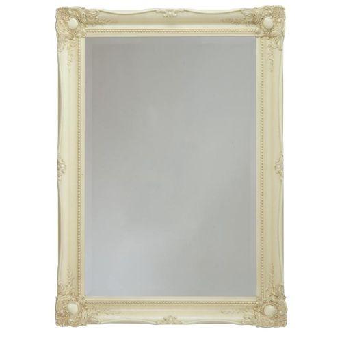 miroir mural / classique / rectangulaire / en bois