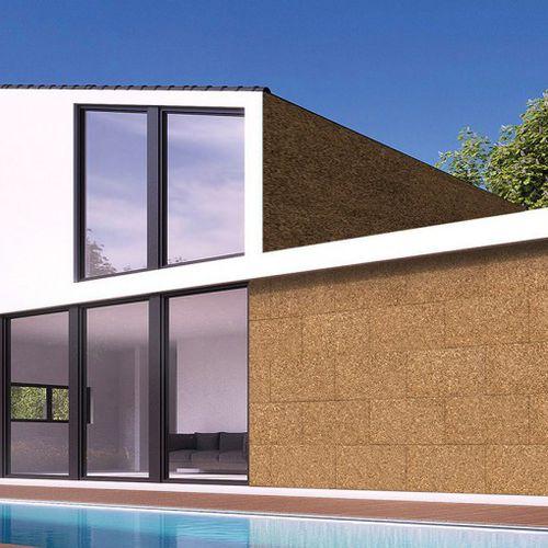 isolant thermo-acoustique / en liège / pour mur / pour toiture