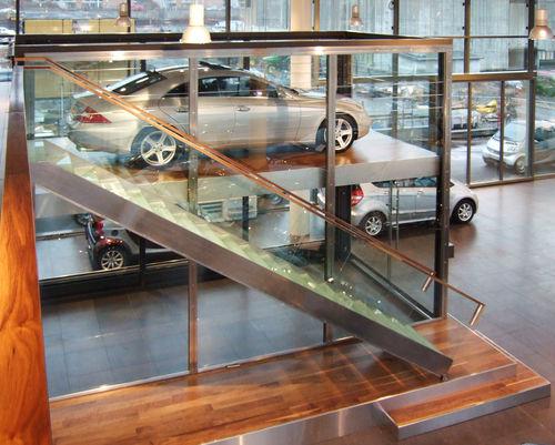 ascenseur pour voiture hydraulique