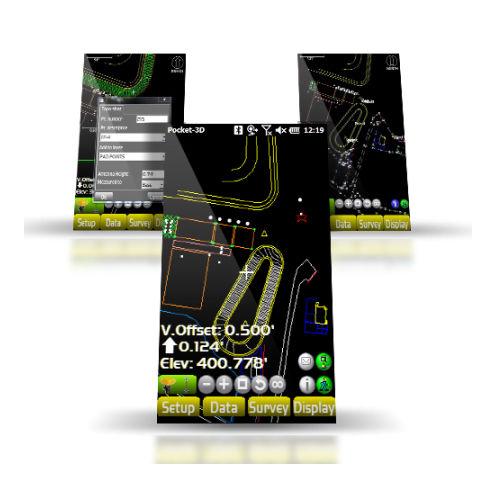 logiciel de gestion de chantier / de calcul / d'analyse / 3D