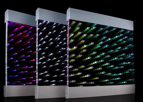 panneau décoratif acrylique / pour agencement intérieur / mat / à effet dimensionnel