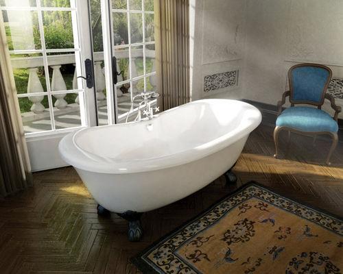 baignoire sur pieds