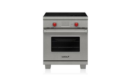cuisinière à induction / professionnelle / en inox
