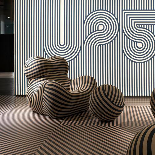 fauteuil design Pop - B&B Italia