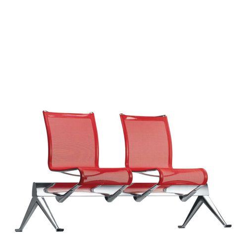 sièges sur poutre en aluminium