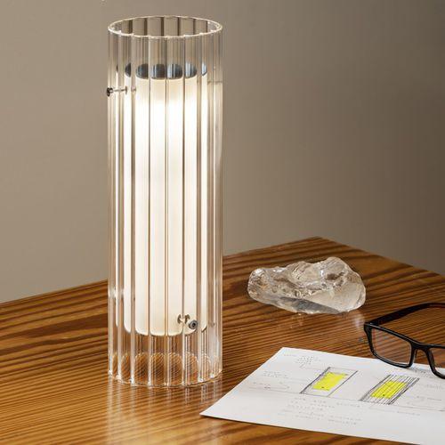 lampe de table / contemporaine / en verre borosilicaté / dimmable