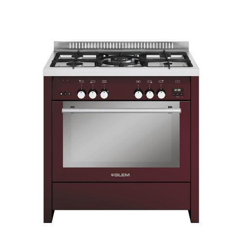 cuisinière à gaz / en fonte