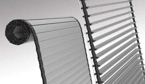 volet roulant / à lames / en aluminium / pour fenêtre