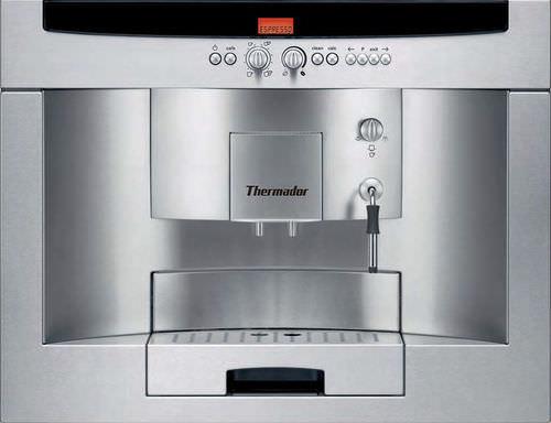 machine à café expresso / automatique / encastrable