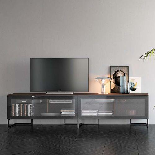 meuble tv contemporain spazio