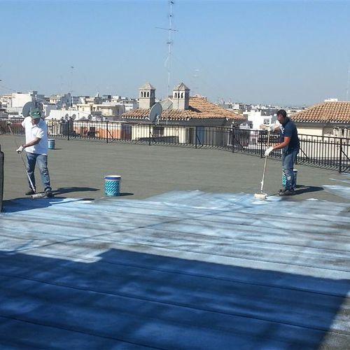peinture de protection / pour surface très résistante / pour béton / extérieure