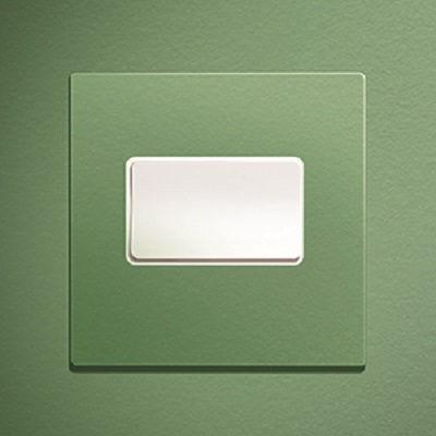 interrupteur à bascule / en métal / contemporain / vert