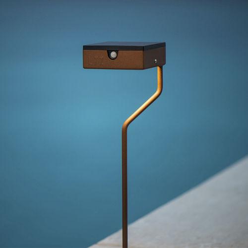 lampe sur pied / contemporaine / en métal / dimmable