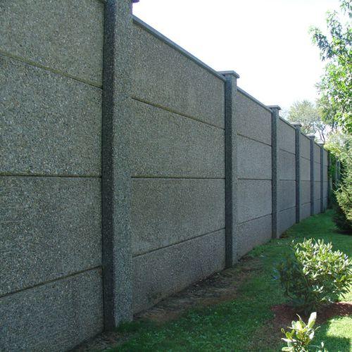 mur anti-bruit préfabriqué