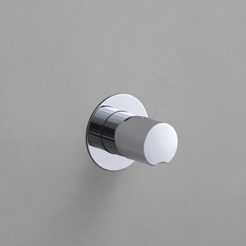 mitigeur de douche / à encastrer / en métal / thermostatique