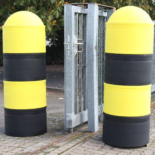 borne de protection / en polyéthylène / amovible