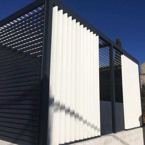 pergola autoportée - AXIUM solutions aluminium