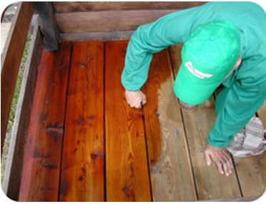 traitement de protection de préservation des bois