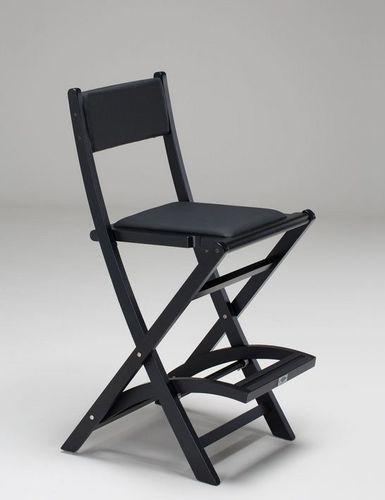 fauteuil de maquillage pliant / avec repose-pieds