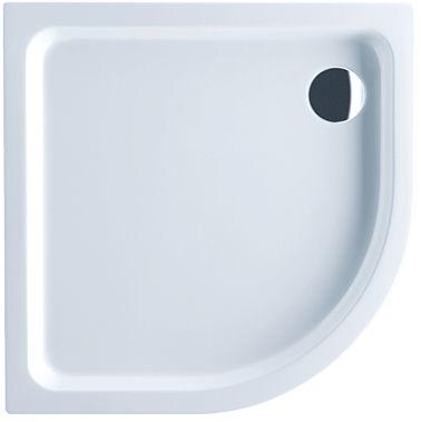 receveur de douche d'angle / à encastrer / en acrylique