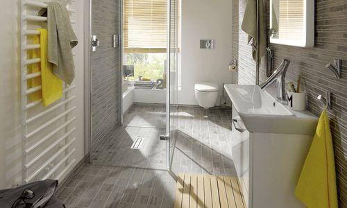mosaïque de salle de bain