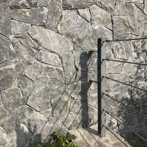 parement en marbre / extérieur / décoratif