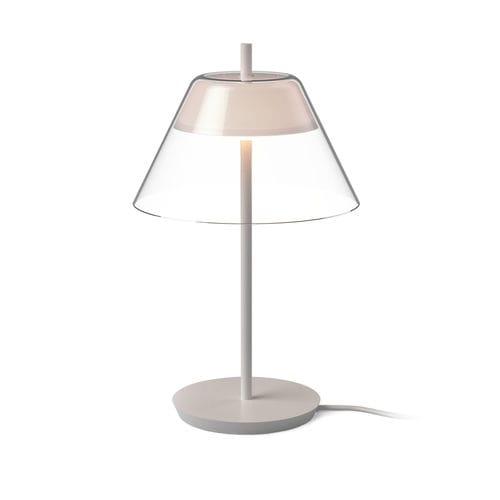 lampe de table / contemporaine / en verre / en plastique