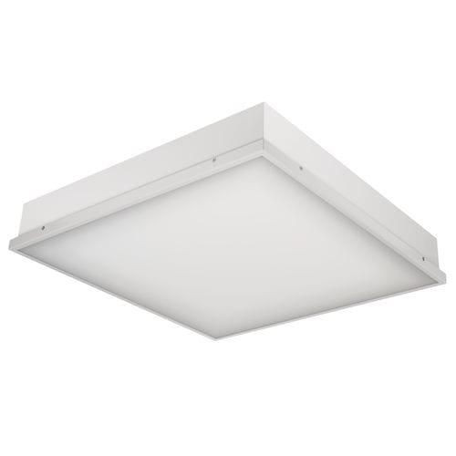 luminaire encastrable au plafond / à LED / carré / en tôle d'acier