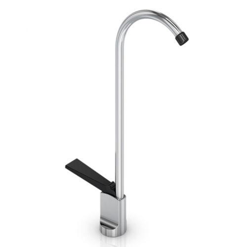 mitigeur pour fontaine / en inox / d'intérieur / 1 trou