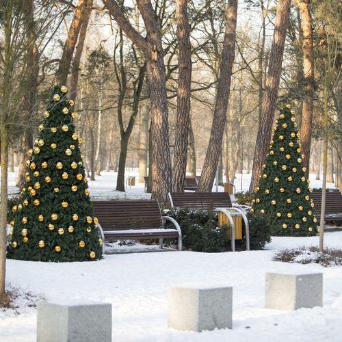 décoration de Noël lumineuse pour espace public - Terra Group