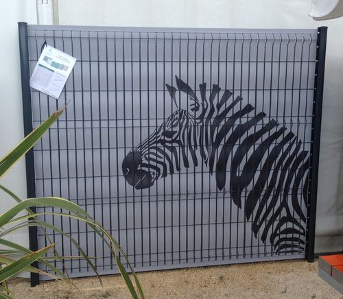 clôture occultante