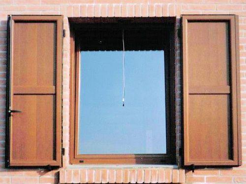 volet battant / en aluminium / pour fenêtre / isolant
