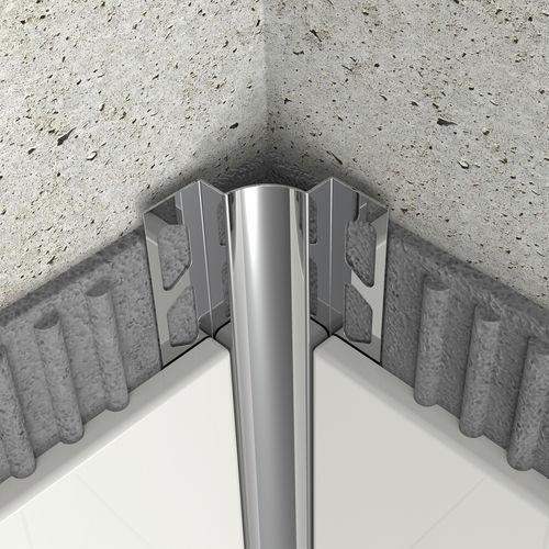 Profile De Finition En Acier Inoxydable Ik10 02 Arfen Pour Carrelage Pour Angle Interieur Quart De Rond