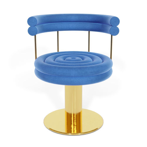 chaise de salle à manger contemporaine - Essential Home