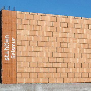 mur en béton préfabriqué / de cisaillement