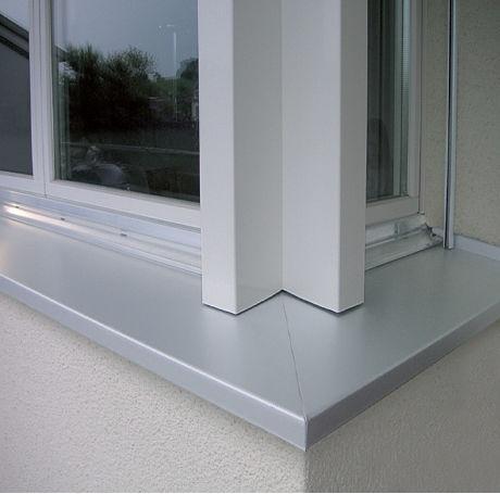 appui de fenêtre en béton / en aluminium / en composite / d'extérieur