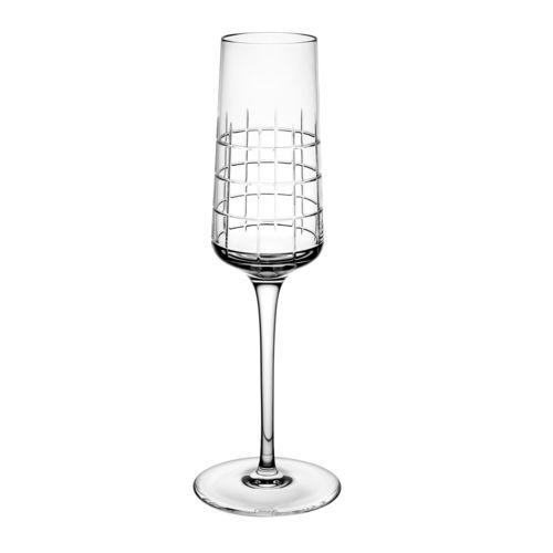 flûte à champagne en cristal
