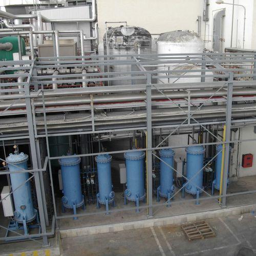 structure métallique pour applications industrielles