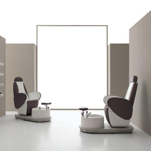 fauteuil de pédicure en simili cuir