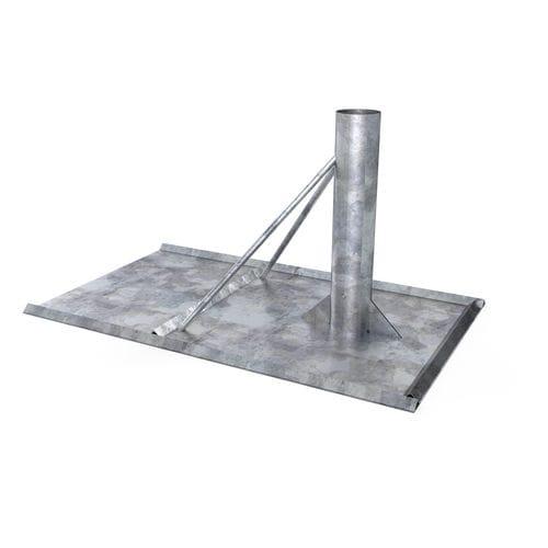 système d'ancrage en acier galvanisé