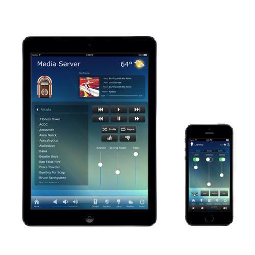 logiciel de gestion de contrôle d'accès et de sécurité / de gestion d'éclairage / de montage vidéo / audio